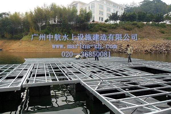 铝合金/钢结构浮箱码头 - 水上浮筒|浮桥|游艇码头|水