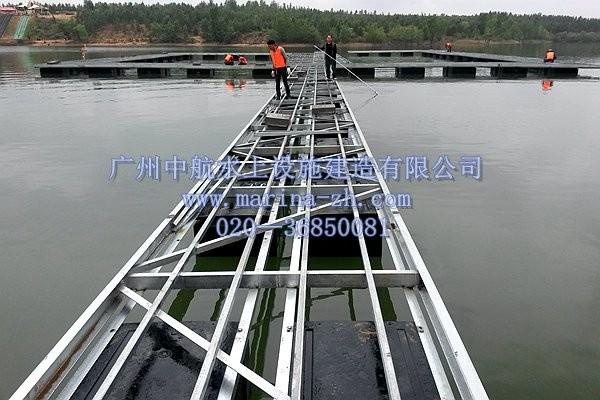 铝合金/钢结构浮箱 - 水上浮筒|浮桥|游艇码头|水上